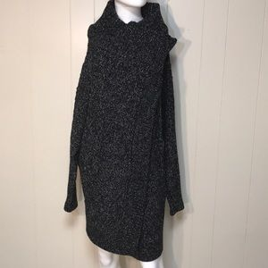 RD style snap / wrap cardigan sweater